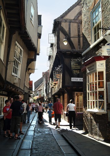 Visit the Shambles Shopping in York